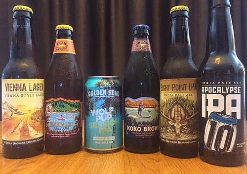 The new craft beer lineup from R.L. Lipton Distributing.