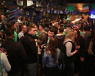 inside of The Federal during Sham-Rock on the Block, Friday, March 17, 2017, in downtown Youngstown. ..(Nikos Frazier | The Vindicator)..