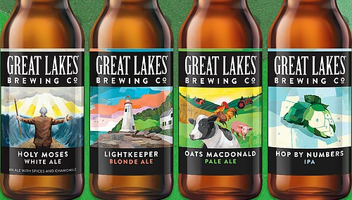 Great Lakes' Fridge Filler sampler pack contains four solid craft beers as temps heat up.