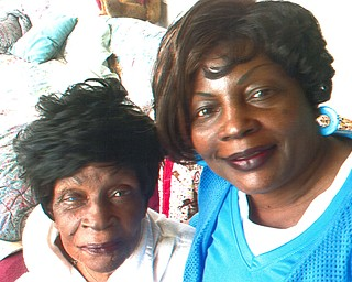 Ernestine Townsend of Youngstown enjoys spending time with her mother, Juanita Carlisle, also of Youngstown.