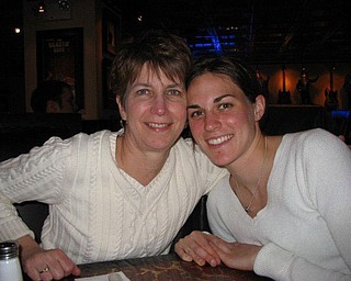 Elizabeth Jorgensen spends some time with her mother, Nancy Jorgensen. Both of Waukesha, Wis., Elizabeth says that her mom is the one person in her life who has always been there for her.
