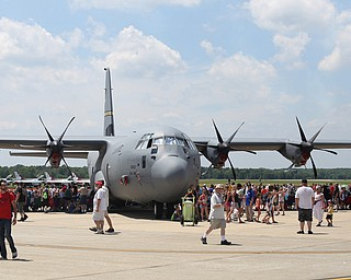 C-130 during the Thunder Over the Valley Air Show at the Youngstown Air Reserve Station, Saturday, June 17, 2017 in Vienna...(Nikos Frazier | The Vindicator)