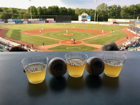 The Flight Crew's view at Eastwood Field.