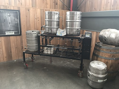 The original brew setup.