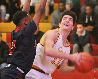 William D. Lewis The Vindicator JFK's Terrance King(3) and  Mooney's Anthony Fire(11)