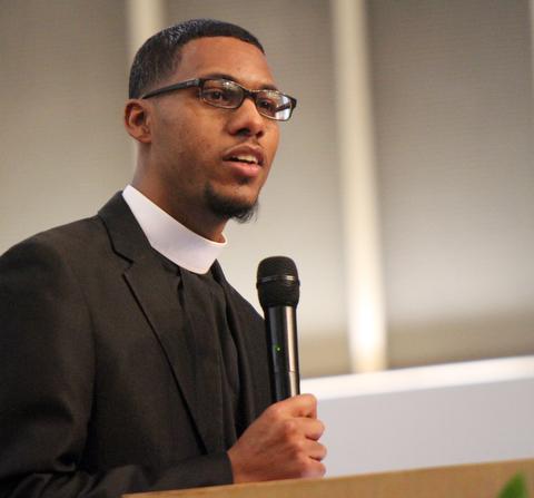 William D. Lewis The Vindicator  Rev Todd Johnson Secondbaptist Church Warren.