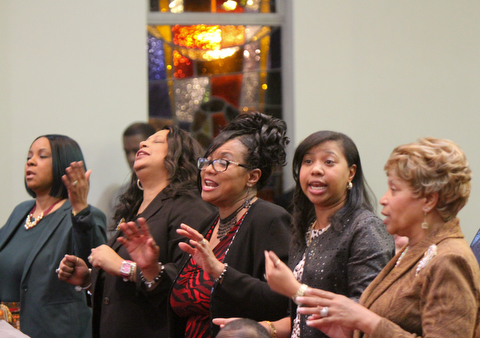 William D Lewis The Vindicator   1-14-18 MLK worship service at Second Baptist Church in Warren.