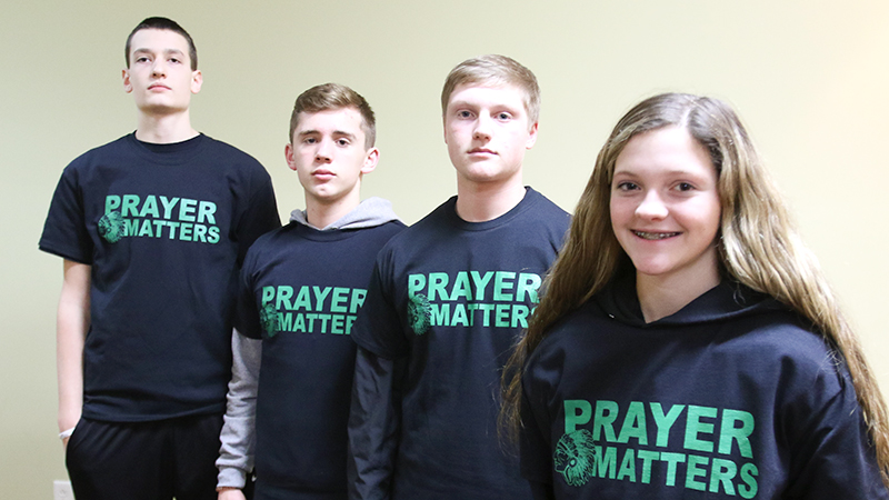 A controversy about prayer in West Branch schools has encouraged basketball