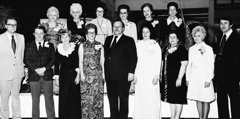 Strouss employee 15 year club. Feb. 26, 1973