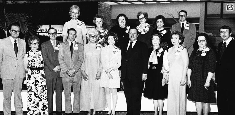 Strouss 20 year employee club 1973