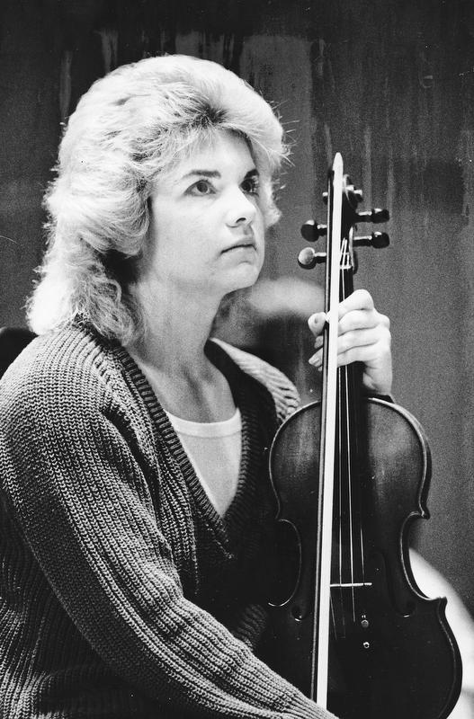 Music Competition District Five .. Jacki Stephenson - Ursuline - Violin