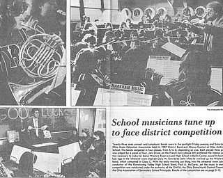 Original Vindicator clipping from 1987...All photos by Robert K. Yosay, The Vindicator..