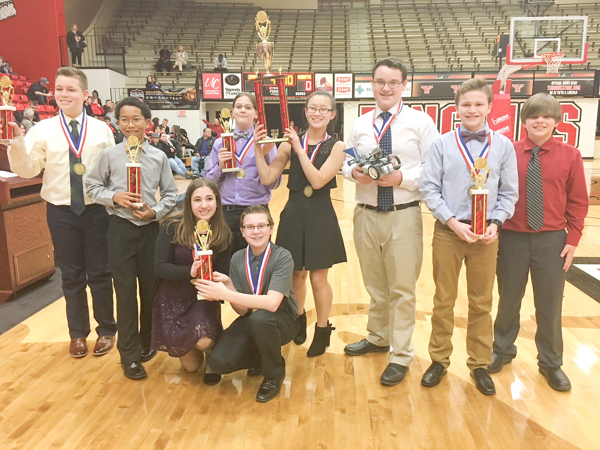 Robotics Teams Fare Well At Competition Vindy Com
