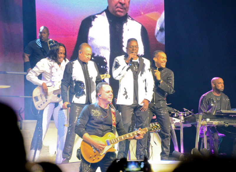 Earth, Wind, and Fire live at Covelli Centre in Youngstown, Ohio on Friday, March 16, 2018...Photo by Scott Williams - The Vindicator.