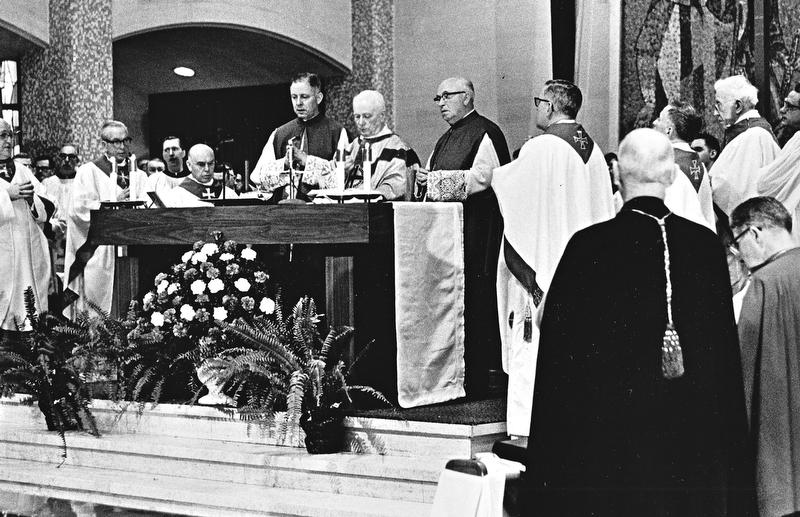 Bishop Walsh Funeral