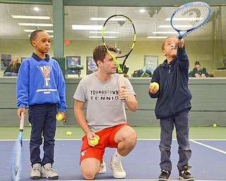 YSU Tennis Partners with the United Way