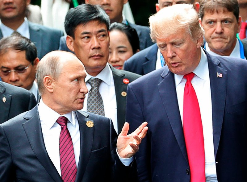 The Trump administration opened the door to a potential White House meeting between President Donald Trump and Russian President Vladimir Putin.