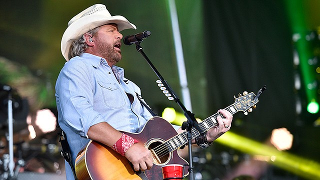 Toby Keith will headline a concert at the Canfield Fair on Sept. 3,  and tickets will go on sale at 10 a.m. April 13 at ticketmaster.com and by phone at 1-800-745-3000.