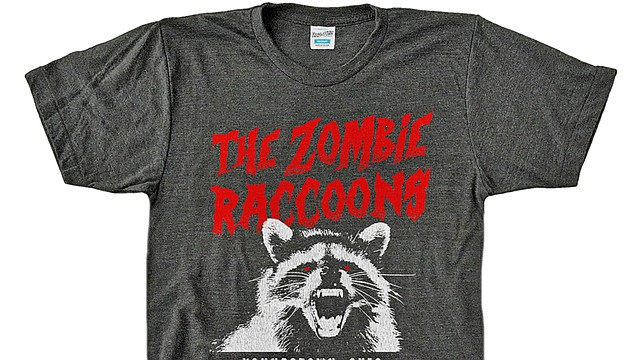 The Youngstown Clothing Co. now has a zombie raccoon shirt on sale to promote awareness for the Youngstown raccoons that suffered from an unknown condition. The Ohio Department of Agriculture will now test the raccoons for distemper after a rabies test came back negative.