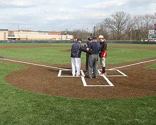 Austintown Fitch took on Columbiana for the first game at their new field 04-12-2018.