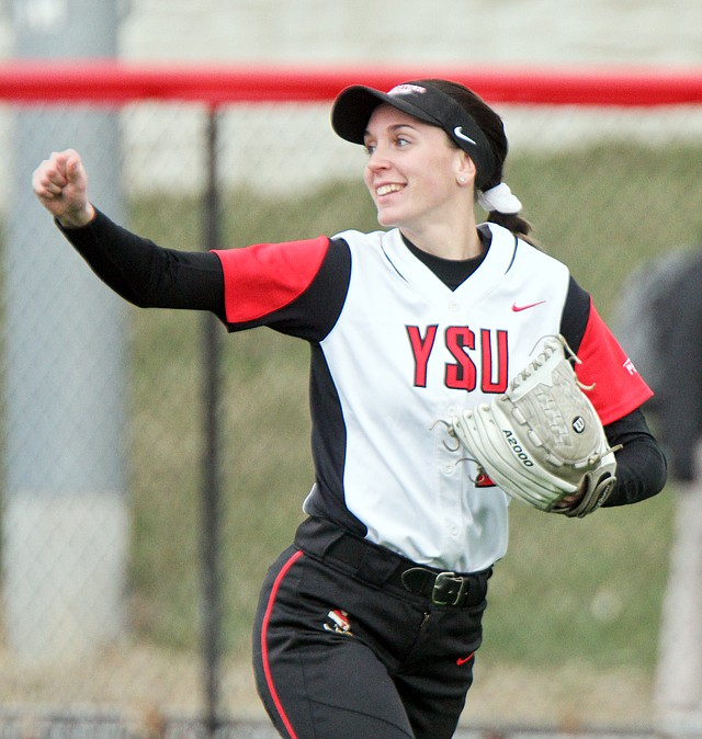 Youngstown State right fielder Lexi Zappitelli has emerged as one of the leaders in batting (No. 11) and on-base percentage (No. 9) in the nation. 