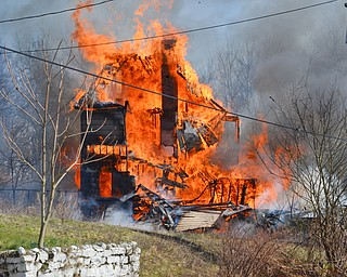 Vacant House Fire on Forest Avenue in Youngstown