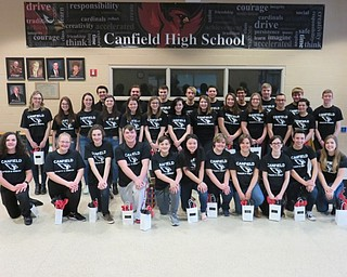Neighbors   Submitted .Pictured are the Canfield Speech and Debate team members that went to state competition, (front) Ashton Gingerich, Kaleigh Ceci, Alex Sanders, Jared Cross, Vincent Machuga, Jessica Lee, Anna Sinclair, Smaranda Solomon, Eva Lamberson, Ben Lawson, Alanna Holden; (back) Taryn Rothbauer, Audra Pesko, Jennifer Smith, Dominic DuPonty, Bridget Fekety, Claire Berlin, Michael Factor, Ashley Reynolds, Drake Safranic, Sophie Hodge, Andrew Kern, Sophia Campos, Angelo Cestone, Marina Campos, Anthony Biondillo, Abi Hursh, Robert Faix, Dominic DeRamo, Brandon Stratton, Lillijanna Tomko and Gregory Halley.