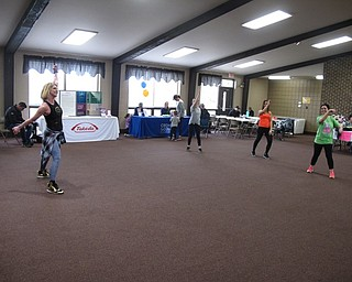 Neighbors   Zack Shively.The 5k and mile run/walk at Austintown Township Park was a part of the Fitness Funday event to raise funds for the Crohn's and Colitis Foundation. The event had a few local vendors, a walk and a dancing workout inside the Stacey Pavilion.