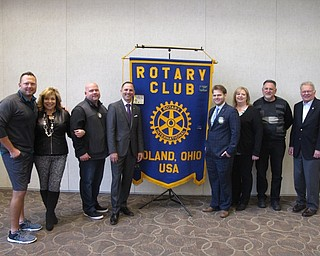 Neighbors   Zack Shively.The Poland Rotary has had the Awards Breakfast annually for the last 32 years. Pictured are Rotary members Andrew Grishcow, Mary Ann Carano, Dan Dull, President Dan Madden, David Moliterno, Shellie Duchek, Steve Zentko and Larry Warren. Grishcow, Carano and Dull were the committee chairs for the Chili Open that raised the funds for the awards.