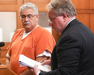 ROBERT K.YOSAY    THE VINDICATOR..WARREN Ñ The Niles corruption investigation that the public learned about with a raid at the mayorÕs office at City Hall in October 2014 reached its climax today with Ralph Infante being sentenced to 10 years in prison for engaging in a pattern of corrupt activity and 21 other crimes.....-30-