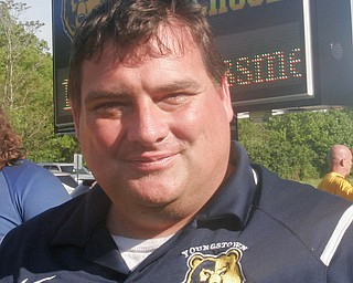William D. Lewis the Vindicator  East HS rugby coach Bill Burton after winning State Championship 5-20-18.