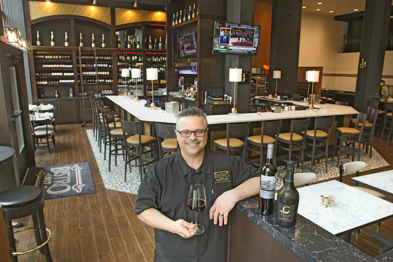 ROBERT K YOSAY  | THE VINDICATOR..When opportunity knocked for restaurateur Mark Canzonetta to open a restaurant in the new DoubleTree by Hilton hotel downtown, he knew right away he had to do it.