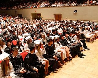 ROBERT K YOSAY  | THE VINDICATOR..Howland Graduation...  at Packard Music Hall in Warren Class of 2018....-30-