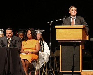 ROBERT K YOSAY  | THE VINDICATOR..Howland Graduation...  at Packard Music Hall in Warren Class of 2018..Speaker for the event was 98 class - atty. Matthew VanSuch..l-30-