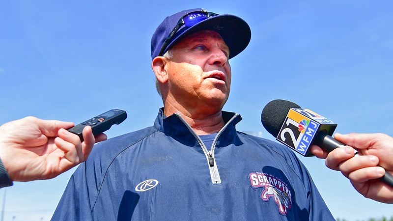 Jim Pankovits , hired as the manager of the Mahoning Valley Scrappers in January, was formally introduced to the area Wednesday during the Scrappers' media day festivities. The Scrappers open their season Friday with a three-game homestand against West Virginia.