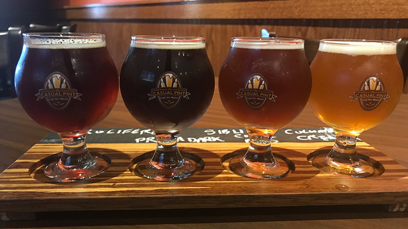 Special beers were on tap for its recent one-year anniversary festivities, including High Quad Drifter, a collaboration beer brewed by Birdfish Brewing in Columbiana with 10 lbs. of black currants.