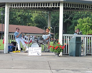 Neighbors | Jessica Harker.The Jim Frank Combo played in the pavillion for the Mill Creek park concert series June 28.