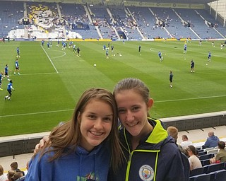 Neighbors | Submitted.Local soccer players McKenzie Avery of Austintown and Ashley Harding of Boardman recently traveled to London, England for a unique training opportunity.