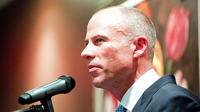 Nationally known lawyer Michael Avenatti, best known for representing adult film actress Stormy Daniels in litigation over an alleged affair in 2006 with President Donald Trump, was the keynote speaker Monday at the Mahoning County Democratic Party Chairman's Dinner at the Upstairs Restaurant.