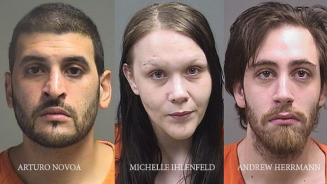 The defendants charged in the death of Shannon Graves, who Mahoning County prosecutors allege was killed in February of last year and whose body was found July 2017 in a freezer in Campbell.