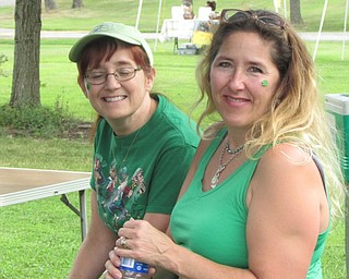 Neighbors | Submitted.Members of the LAOH ran the tent during the Austintown Farmers Market Heritage Day event on Aug. 6 at the Austintown Park.