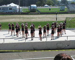 Neighbors | Jessica Harker.The Canfield Cheerleading Squad performed at the Canfield Fair August 29.