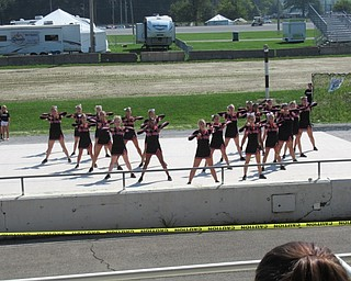 Neighbors | Jessica Harker.Canfield Cheerleaders performed with 16 other schools for the Cheerleading Demonstrations at the Canfield Fair August 29.