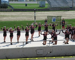 Neighbors | Jessica Harker.The whole Canfield Cheerleading Squad performed together at the Canfield Fair Cheerleading Demonstrations August 29.