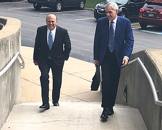 Former city Finance Director Dave Bozanich entered a written waiver of his arraignment on public corruption charges today in Mahoning County Common Pleas Court.