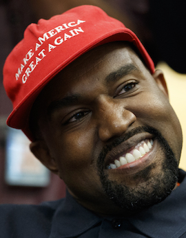 Kanye West In Maga Hat Delivers Surreal Oval Office