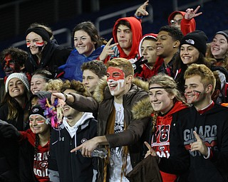 William D. Lewis The Vindicator Girard's students cheer during the first half.