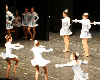 Dancers from Jeannette's School of Dance perform to Holiday Treat during The Packard Band annual Christmas Spectacular at W.D. Packard Music Hall on Sunday afternoon. EMILY MATTHEWS | THE VINDICATOR