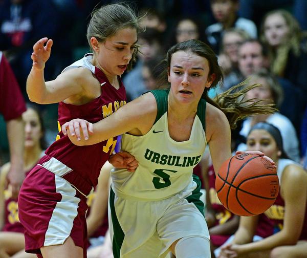 Ursuline v. Mooney Girls Basketball