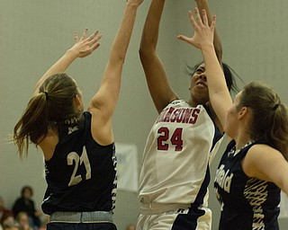 Niles vs McDonald girls Basketball